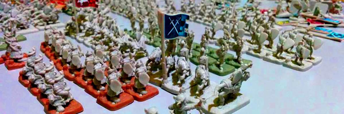 Esercito miniature gioco di società